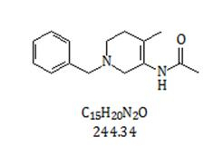 N-[1,2,5,6-Tetrahydro-4-methyl-1-(phenylmethyl)-3-pyridinyl]acetamide